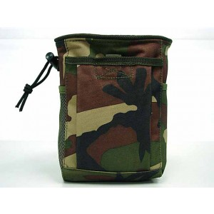 Molle Small Magazine Tool Drop Pouch Camo Woodland