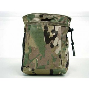 Molle Small Magazine Tool Drop Pouch Multi Camo