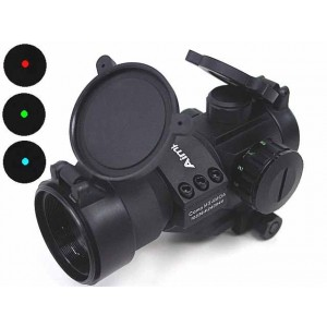 Comp M3 Type Red Green Blue Dot Sight Scope w/Cantilever Mount
