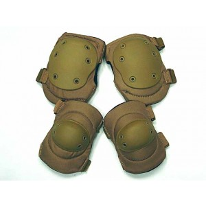 Advanced Tactical Knee & Elbow Pads Coyote Brown