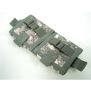 Molle Shotgun Shell Holder Carrier Pouch Digital ACU Camo