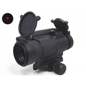 Comp M4 Type Red Dot Sight Scope w/QD Mount