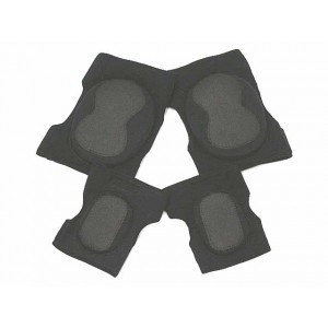 Airsoft Paintball Neoprene Knee & Elbow Pads Black
