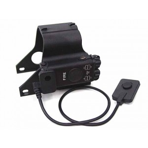 Red Laser QD Lever Scope Cover for 551/552 Type Dot Sight Black