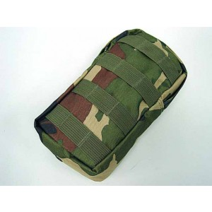 Molle Medic First Aid Pouch Bag Camo Woodland #B