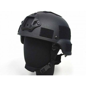 MICH TC-2000 ACH Replica Helmet with NVG Mount Black