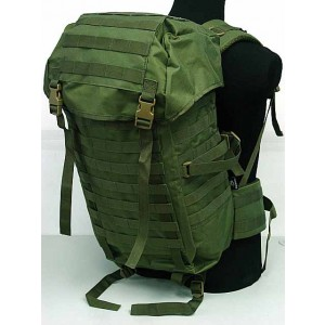 Molle Style Patrol Pack Assault Backpack OD