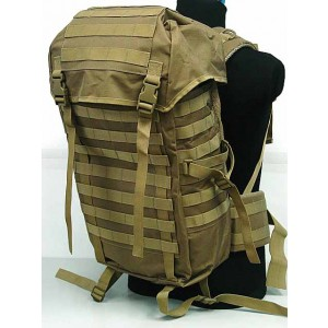 Molle Style Patrol Pack Assault Backpack Coyote Brown