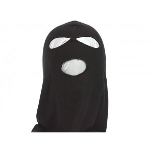 SWAT Balaclava Hood 3 Hole Head Face Mask Protector BK
