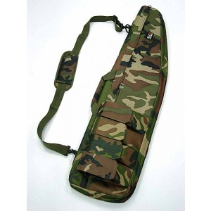 "40"" Tactical Rifle Sniper Case Gun Bag Camo Woodland"
