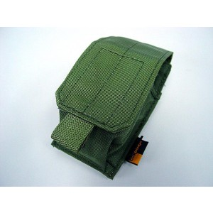 Flyye 1000D Molle Single Smoke/Flash Grenade Pouch OD
