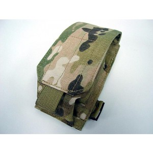 Flyye 1000D Molle Single Smoke/Flash Grenade Pouch Multicam