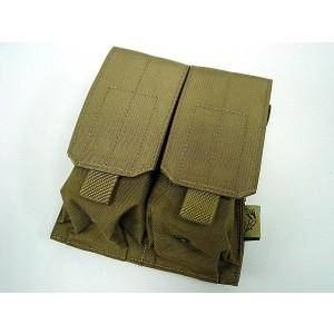 Flyye 1000D Molle Double M4/M16 Magazine Pouch Coyote Brown