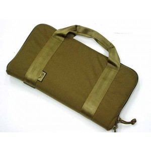 Flyye 1000D Pistol Carry Case Gun Bag Pouch L Coyote Brown