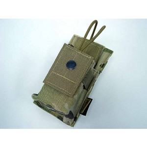 Flyye 1000D Molle Short Radio/Walkie Talkie Pouch Multicam