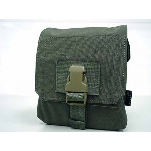 Flyye 1000D Molle M60 100rds Ammo Magazine Pouch Ranger Green