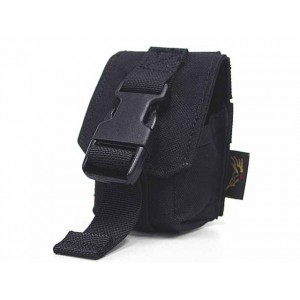 Flyye 1000D Molle Single Frag Grenade Pouch Black