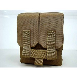 Flyye 1000D Molle M249 200rds Ammo Magazine Pouch Coyote Brown