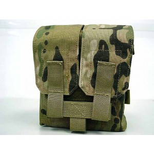 Flyye 1000D Molle M249 200rds Ammo Magazine Pouch Multicam