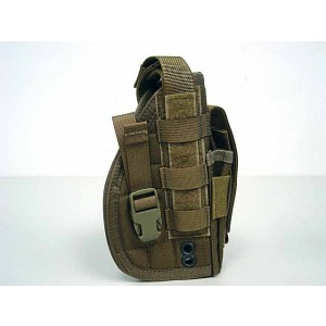 Flyye 1000D Molle Pistol Belt RH Holster Coyote Brown