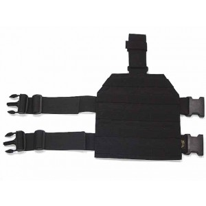 Flyye 1000D Molle Drop Leg Panel Platform Black