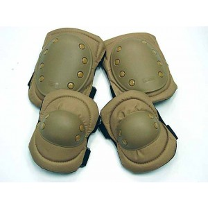 Tactical Knee & Elbow Pads Coyote Brown