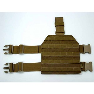 Flyye 1000D Molle Drop Leg Panel Platform Coyote Brown