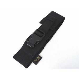 Flyye 1000D Molle Airsoft Silencer Holder Pouch Black