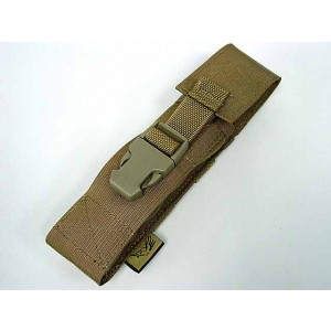 Flyye 1000D Molle Airsoft Silencer Holder Pouch Coyote Brown