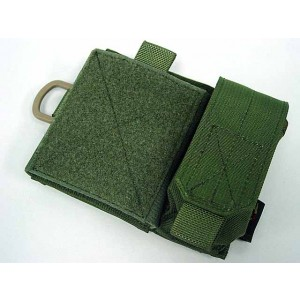 Flyye 1000D Molle SAF Admin Panel Map Pouch OD