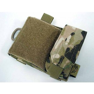 Flyye 1000D Molle SAF Admin Panel Map Pouch Multicam