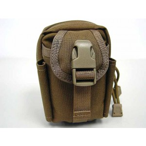 Flyye 1000D Molle Mini Duty Pouch Waist Bag Coyote Brown