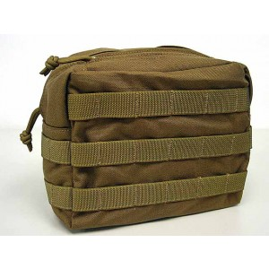 Flyye 1000D Molle Drop Leg Utility Waist Pouch Bag Coyote Brown
