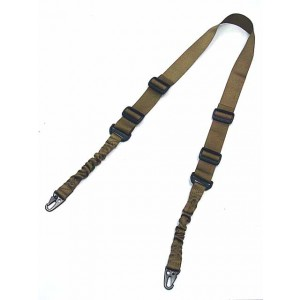 USMC 2-Point Bungee Tactical Rifle Sling Coyote Brown