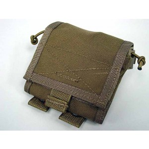 Flyye 1000D Molle Folding Magazine Drop Pouch Bag Coyote Brown