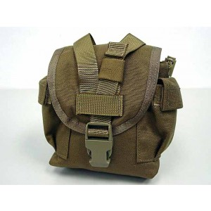 Flyye 1000D Molle Canteen Utility Pouch Ver.FE Coyote Brown