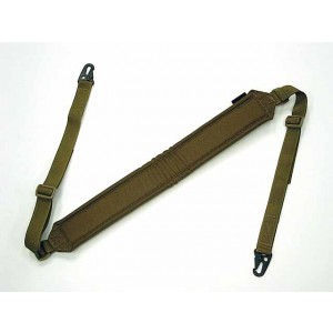 Flyye 1000D LMG Shoulder Padded Rifle Sling Coyote Brown