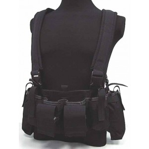 Flyye 1000D Tactical LBT M4 Magazine Chest Rig Vest Black