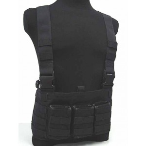 Flyye 1000D Molle LAW ENF Magazine Chest Rig Vest Black