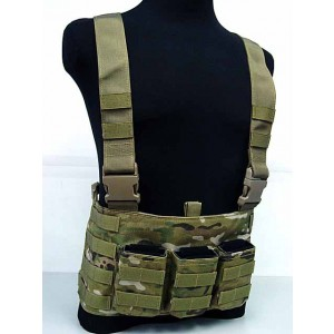 Flyye 1000D Molle LAW ENF Magazine Chest Rig Vest Multicam