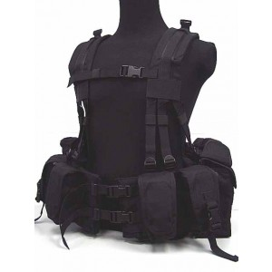 Flyye 1000D 1195J SEALs Floating Harness Chest Rig Black
