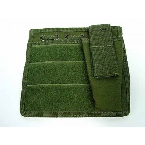 Molle MOD Map Torch Admin Pouch OD