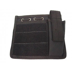 Molle MOD Map Torch Admin Pouch Black