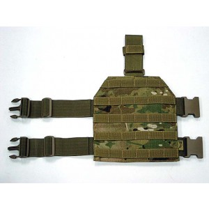 Flyye 1000D Molle Drop Leg Panel Platform Multicam