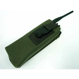 Molle Large Radio/Walkie Talkie Pouch OD