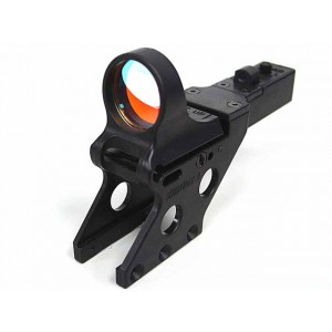 CMore Style Red Dot Sight Reflex w/Integral Pistol Mount Black