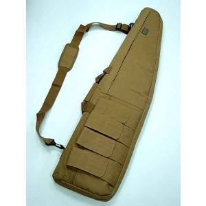 "48"" Tactical Rifle Sniper Case Gun Bag Coyote Brown"