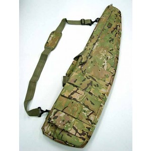"48"" Tactical Rifle Sniper Case Gun Bag Multi Camo"