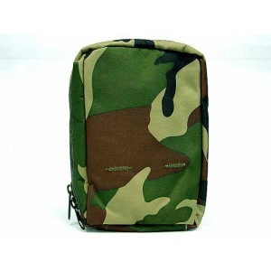 Molle Medic First Aid Pouch Bag Camo Woodland