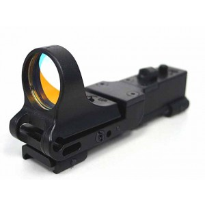 CMore Style Red Dot Sight Railway Reflex for RIS Rail Black